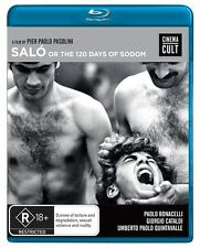 SALO (DIRECTOR: PIER PAOLO PASOLINI) - 2 BLU-RAY SET - BRAND NEW!!! SEALED!!!