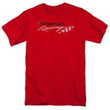 Retro PONTIAC Racing Flag Men's Classic Fit Shirt: Size Small-5XL