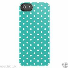 Uncommon Case/Cover Mini Dots Teal Deflector Hard Shell for iPhone 5/5s/SE