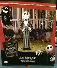 DISNEY NIGHTMARE BEFORE CHRISTMAS JACK SKELLINGTON 5FT AIRBLOWN INFLATABLE DECOR
