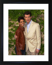 Pierce Brosnan And Halle Berry Framed Photo CP1321