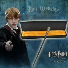 "Harry Potter Ron Weasley 33cm/13.2"" Collectible Magical Wand Cosplay NIB"