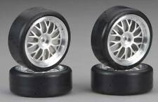 Traxxas Protrax Wheel, Slick (4) RC Touring Car Wheels/Tire Set 1/10