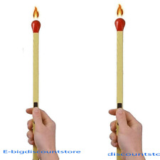 "2 PCS 8"" Long MATCHES Lighter BARBEGUE REFILLABLE GRILL LIGHTER BBQ butane NEW!!"