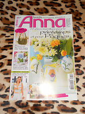 MAGAZINE ANNA Burda,n° 75 - 70 idées inventives pour le printemps et pour Pâques