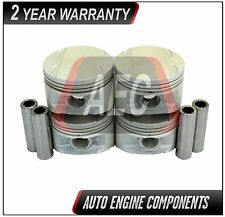 Piston Set Fits Chrysler Dodge Sebring Avenger 2.0 L A599, 420A DOHC #P848