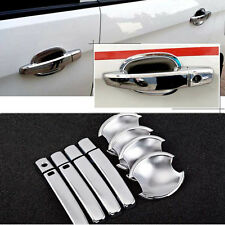 Non-Rusty Chrome Door Handle Bowl Cover Cup Overlay Trim For Chevrolet Sail 3 15