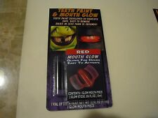 New  Wolfe FX Teeth Paint & Mouth Glow Red Mouth Glow Designed by Dentists Safe