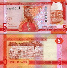 GAMBIA - 5 dalasis 2015 FDS - UNC