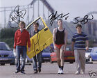 THE INBETWEENERS AUTOGRAPH SIGNED PP PHOTO POSTER