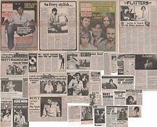 ROXY MUSIC : CUTTINGS COLLECTION -1970s- bryan ferry