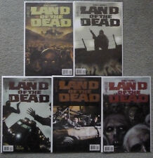 LAND OF THE SEAD #1-5 SET..RYALL/RODRIGUEZ.IDW 2005 1ST PRINT.VFN+.GEORGE ROMERO