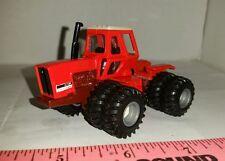 1/64 ERTL custom agco allis chalmers 7580 4wd maroon belly tractor dual farm toy