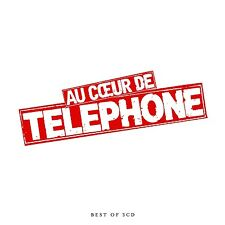 Telephone-a coeur de telephone-best of 3 CD NEUF