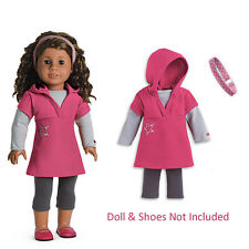 American Girl JLY STAR HOODIE OUTFIT W/ NO SHOES for Dolls Retired Clothes NEW