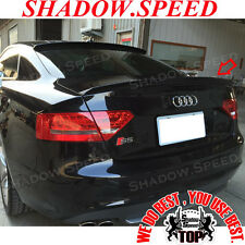 Painted V Type PUF Rear Trunk Spoiler Wing For AUDI S5 RS5 2007-15 Coupe ✪