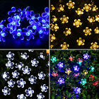 Solar LED String Lights Fairy Sakura Party Wedding Garden Landscape Lamp Outdoor