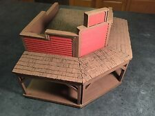 conte playset tssd austin miniatures 1/32nd scale western foam buildings