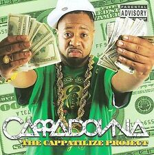 The Cappatilize Project (CD) by Cappadonna (SEALED, NEW) Shelf GS 2