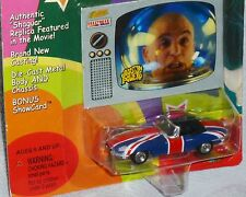 Johnny Lightning Austin Powers Jaguar XKE Shaguar Hollywood on Wheels Evil Card