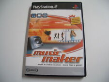 Music Maker-Music & Video creation More Than a Game! (PlayStation 2)