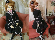 1/4 BJD outfit msd mdd minifee girl doll size dress set dollfie #SEN-84M