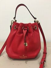 RRP £215 - Kate Spade Red Leather WYATT MESSENGER Bag - New Without Tags
