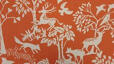 Clarke and Clarke Vilda Cinnamon Scandi Designer Curtain Upholstery Craft Fabric