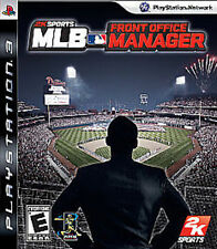 MLB Front Office Manager USED SEALED (Sony PlayStation 3) PS PS3 Free Shipping