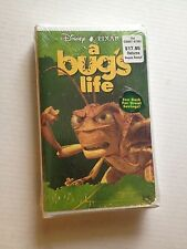 Disney Pixar A Bug's Life VHS - New Sealed