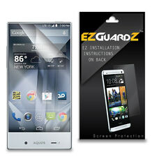 3X EZguardz Screen Protector Cover Shield HD 3X For Sharp Aquos Crystal 305SH