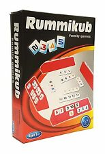 "Party Family Board Game MINI RUMMIKUB Make a ""Group"" and ""Run"" (For 2+ Players)"