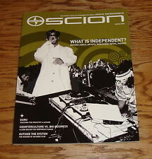 Original 2005 Scion Winter Spring Deluxe Sales Brochure 05 xA xB tC