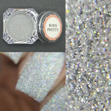 1g/Box Holographic Holo Silver Laser Powder Manicure Nail Art Glitter Decoration