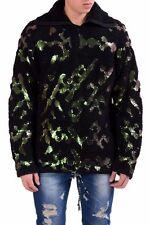 Maison Martin Margiela Men's Wool 1/2 Zip Heavy Sweater US M IT 50