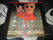Surviving the Game NEW SEALED Widescreen Laserdisc LD Ice T Free Ship $30 Orders
