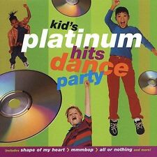 Kid's Platinum Hits Dance Party by Kid's Dance Express   New  Free USA Shipping