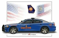 Dodge Charger Georgia State Patrol  - Patrol Car Profile