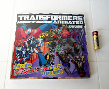 Transformers Animated Japan TV Anime & Toy PICTURE BOOK!!