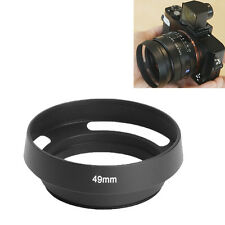 NEU METAL VENTED 49MM LENS HOOD ALSO SUITABLE FOR LENS SHADE