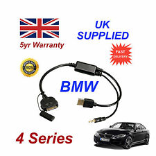 BMW 4 Series (611204407) For Apple 3GS 4 4S iPhone iPod USB & 3.5mm Aux Cable