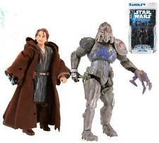 Star wars expanded universe anakin skywalker & durge 2 figure & comic pack rare