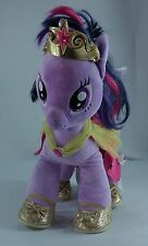 "My Little Pony Build-A-Bear 17"" Twilight Sparkle w/ Cape, Crown, Shoes, Bloomers"