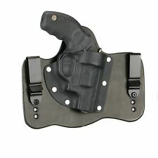 "FoxX Leather & Kydex IWB Hybrid Holster Taurus 85 -Protector Poly 2"" Black Right"