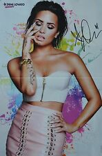 DEMI LOVATO - A3 Poster (ca. 42 x 28 cm) - Clippings Fan Sammlung NEU