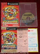 *Complete* GameCube Game PAPER MARIO RPG NTSC-J Japan Import