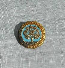 Rare 1897 National Congress of Parents and Teachers Enamel & Gold Filled Pin