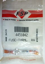 FSP Whirlpool 4451042 Cooktop Stove Oven Range Thermal Fuse NEW in Pkg!