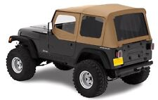 1988-1995 JEEP WRANGLER SPICE SOFT TOP + UPPER SKINS & TINTED REAR WINDOWS NEW