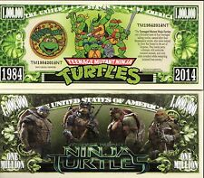 Teenage Mutant Ninja Turtles Movie Million Dollar Novelty Money